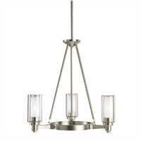 Picture for category Kichler 2343NI Circolo Chandeliers Brushed Nickel