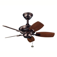 Picture for category Kichler 300103OBB Canfield Ceiling Fans Oil Brushed Bronze