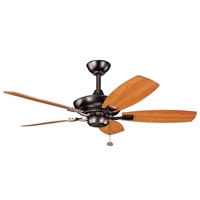 Picture for category Kichler 300107OBB Canfield Ceiling Fans Oil Brushed Bronze