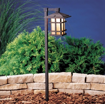 Picture of Kichler 15232AGZ Cross creek Outdoor Lighting Lamps