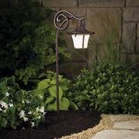 Picture for category Kichler 15420AGZ Cotswold Outdoor Lighting Lamps