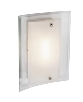 Picture for category Trans Globe MDN-1027 Young hip Wall Sconces 11in Polished Chrome Metal Glass