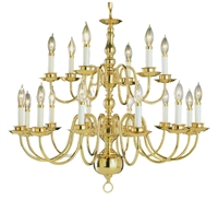 Picture for category Trans Globe Lighting 1018-1 PB Chandeliers Back to basics