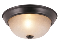 Picture for category Trans Globe 14012 ROB Back to basics Flush Mounts 10in Rubbed Oil Bronze Metal