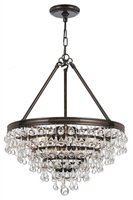 Picture for category Crystorama Lighting 136-VZ Chandeliers Calypso
