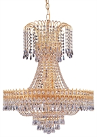 Picture for category Crystorama Lighting 1472-GD-CL-MWP Chandeliers Hot deal