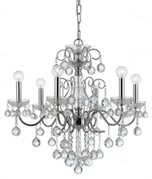 Picture for category Crystorama Lighting 3326-CH-CL-MWP Chandeliers Imperial