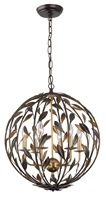 Picture for category Crystorama Lighting 506-EB-GA Chandeliers Broche