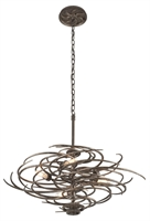Picture for category Troy F3675 Pendants Revolution Bronze Hand-Forged Iron Candelabra 5-light 35 in
