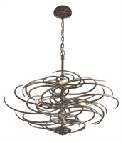Picture for category Troy F3676 Pendant Revolution Bronze Hand-Forge Iron Candelabra 6 Light 36 inch