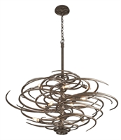 Picture for category Troy F3678 Pendant Revolution Bronze Forged Iron Candelabra Base 10-light 52 in