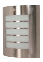 Picture for category Nuvo 60/944 Contemporary Bath Lighting 9in Brushed Nickel Frosted 1-light