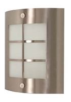Picture for category Nuvo 60/946 Contemporary Bath Lighting 9in Brushed Nickel Frosted 1-light