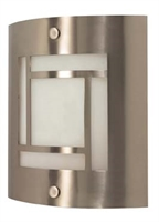 Picture for category Nuvo 60/948 Contemporary Bath Lighting 9in Brushed Nickel Frosted 1-light