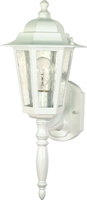 Picture for category Nuvo 60/985 Cornerstone Outdoor Lighting Lamps 7in White Clear Seed 1-light