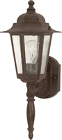 Picture for category Nuvo 60/986 Cornerstone Outdoor Lighting Lamps 7in Old Bronze Clear Seed