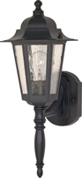 Picture for category Nuvo 60/987 Cornerstone Outdoor Lighting Lamps 7in Textured Black Clear Seed