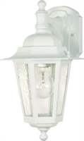 Picture for category Nuvo 60/988 Cornerstone Outdoor Lighting Lamps 7in White Clear Seed 1-light