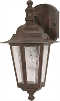 Picture for category Nuvo 60/989 Cornerstone Outdoor Lighting Lamps 7in Old Bronze Clear Seed