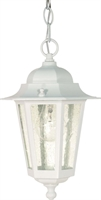 Picture for category Nuvo 60/991 Cornerstone Outdoor Lighting Lamps 7in White Clear Seed 1-light