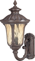 Picture for category Nuvo 60/2001 Beaumont Outdoor Lighting Lamps 14in Fruitwood Amber Water