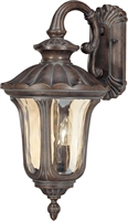 Picture for category Nuvo 60/2004 Beaumont Outdoor Lighting Lamps 11in Fruitwood Amber Water