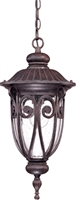 Picture for category Nuvo 60/2068 Corniche Outdoor Lighting Lamps 10in Burlwood Clear Seeded