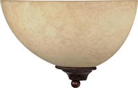Picture for category Nuvo 60/044 Tapas Wall Lantern 12in Old Bronze Tuscan Suede 1-light