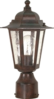Picture for category Nuvo 60/995 Cornerstone Outdoor Lighting Lamps 7in Old Bronze Clear Seed