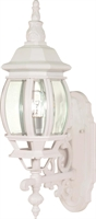 Picture for category Nuvo 60/885 Central park Outdoor Lighting Lamps 6in White Clear Beveled panels