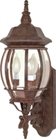 Picture for category Nuvo 60/889 Central park Outdoor Lighting Lamps 7in Old Bronze 3-light