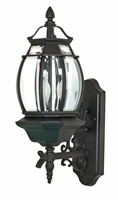Picture for category Nuvo 60/893 Central park Outdoor Lighting Lamps 7in Textured Black 3-light