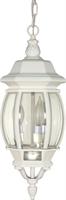 Picture for category Nuvo 60/894 Central park Outdoor Lighting Lamps 7in White Clear Beveled panels