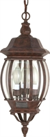 Picture for category Nuvo 60/895 Central park Outdoor Lighting Lamps 7in Old Bronze 3-light