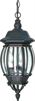 Picture for category Nuvo 60/896 Central park Outdoor Lighting Lamps 7in Textured Black 3-light