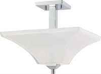Picture for category Nuvo Lighting 60/4007 Semi Flush Parker