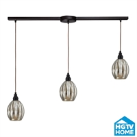 Picture for category Elk 46007/3L Danica Pendants 36in Oiled Bronze 3-light