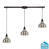 Picture for category Elk 46008/3L Danica Pendants 36in Oiled Bronze 3-light