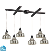 Picture for category Elk 46008/6 Danica Pendants 33in Oiled Bronze 6-light