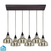 Picture for category Elk 46008/6rc Danica Pendants 30in Oiled Bronze 6-light