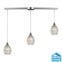 Picture for category Elk 46017/3L Danica Pendants 36in Polished Chrome 3-light