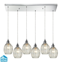 Picture for category Elk 46017/6rc Danica Pendants 30in Polished Chrome 6-light