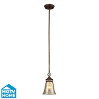 Picture for category Elk 46020/1 Cheltham Pendants 6in Mocha 1-light