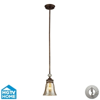 Picture for category Elk 46020/1-LA Cheltham Pendants 6in Mocha 1-light