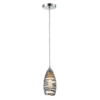 Picture for category Elk 31338/1VINW Twister Pendants 5in Polished Chrome 1-light