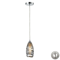 Picture for category Elk 31338/1VINW-LA Twister Pendants 5in Polished Chrome 1-light