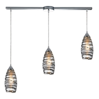 Picture for category Elk 31338/3L-vinw Twister Pendants 36in Polished Chrome 3-light