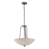 Picture for category Elk 17142/3 Mayfield Pendants 19in Brushed Nickel 3-light