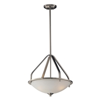 Picture for category Elk 17143/3 Mayfield Pendants 17in Brushed Nickel 3-light