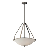 Picture for category Elk 17144/3 Mayfield Pendants 21in Brushed Nickel 3-light
